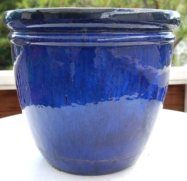 10 Inch Ceramic Glazed Pot