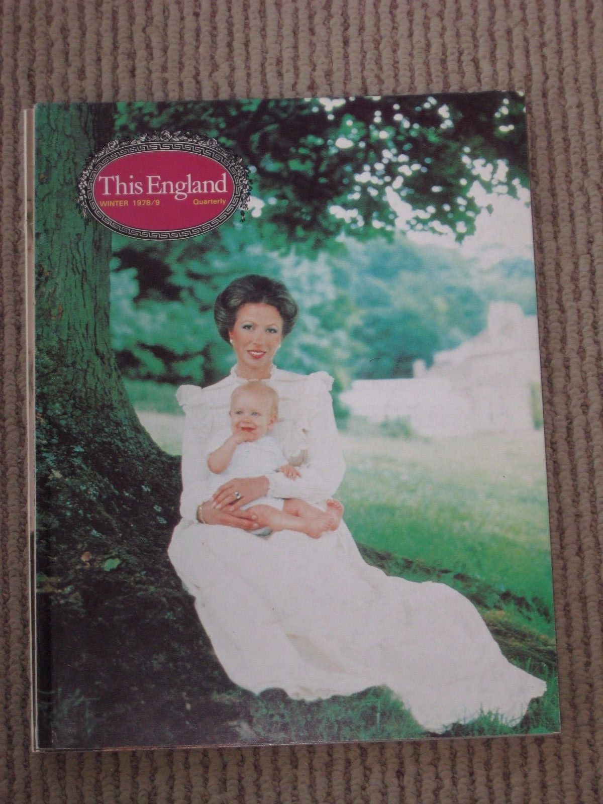 Vintage 1978-9 THIS ENGLAND Magazine Princess Anne and Her New Baby On Cover | eBay
