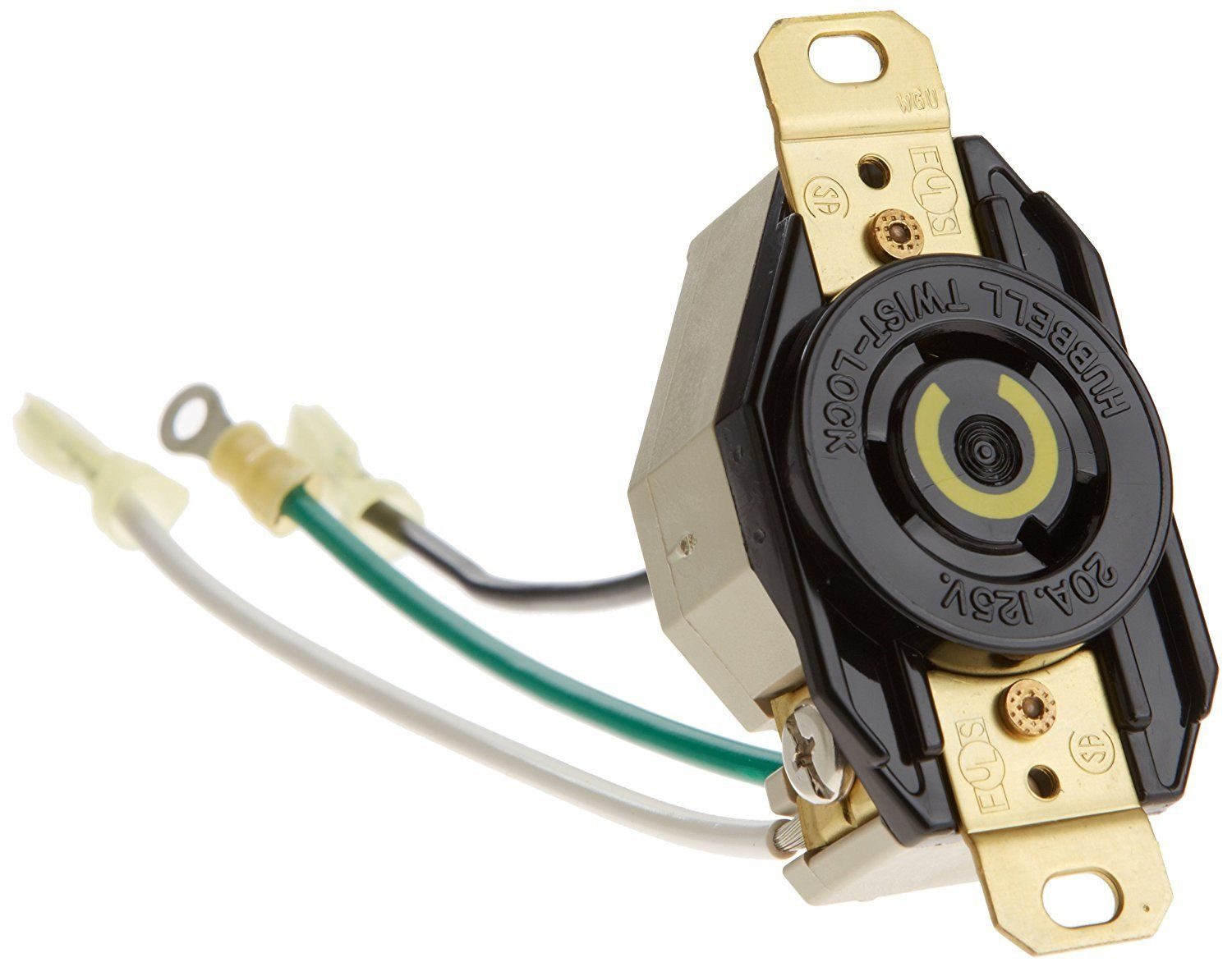 Hayward GLX-TLOUTLET-20 20 Amp Screw in Outlet for Hayward AQ-TROL-RJ-TL