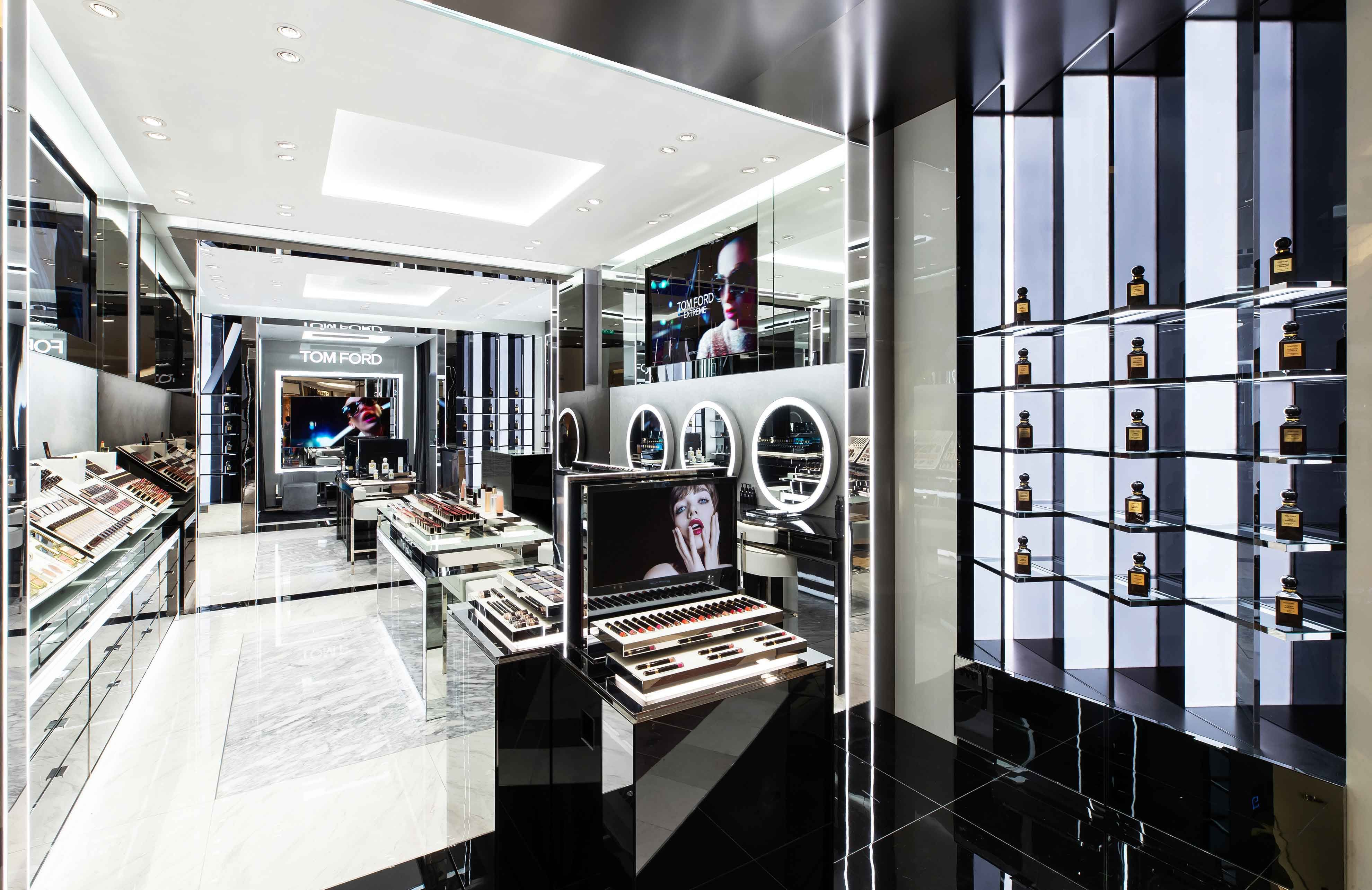 Tom Ford Beauty Now Opens In Kuala Lumpur Diva In Me Tom Ford Beauty Architect Design Beauty Store