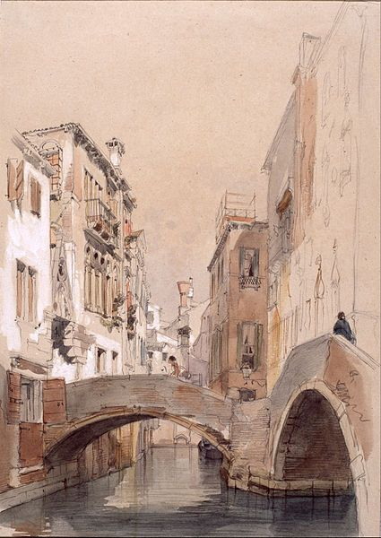 File:Lucas Velázquez, Eugenio - A Venice Canal - Google Art Lucas Velázquez, Eugenio (1817/1870) Title English: A Venice Canal Date1868 Dimensions English: w28.7 x h40.5 cm (Complete) Current location English: Museo Lázaro Galdiano