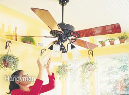 Install a ceiling fan and cut back on the ac great website with install a ceiling fan and cut back on the ac great website with lots of home repairimprovement projects aloadofball Images