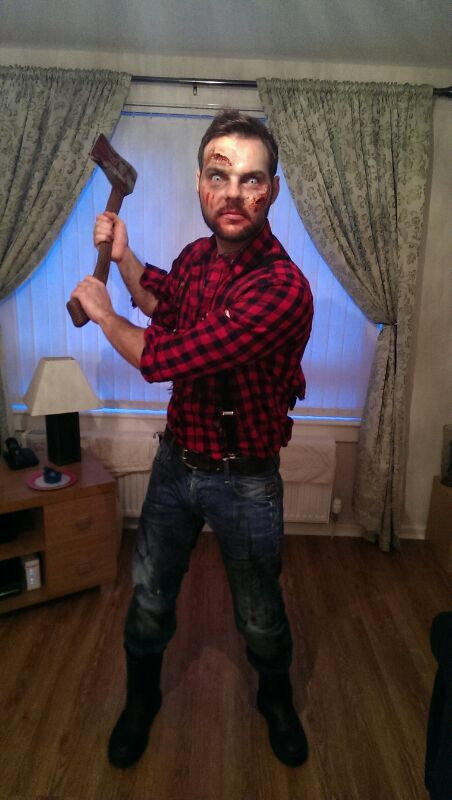 Lumberjack zombie ...