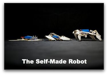 A joint team of engineers from Harvard University and the Massachusetts Institute of Technology have created the world's first ever robot that can assemble itself.