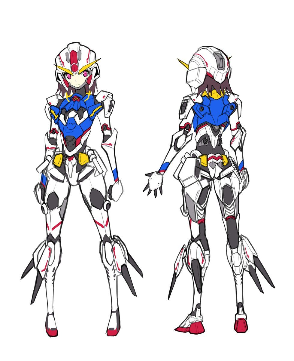 Pin By Gl Suseberry On Mecha Robot Girl Character Design Concept Art Characters