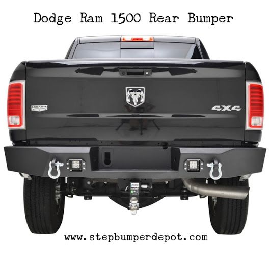 Benefits Of Installing The 2003 Dodge Ram 1500 Rear Bumper Guard