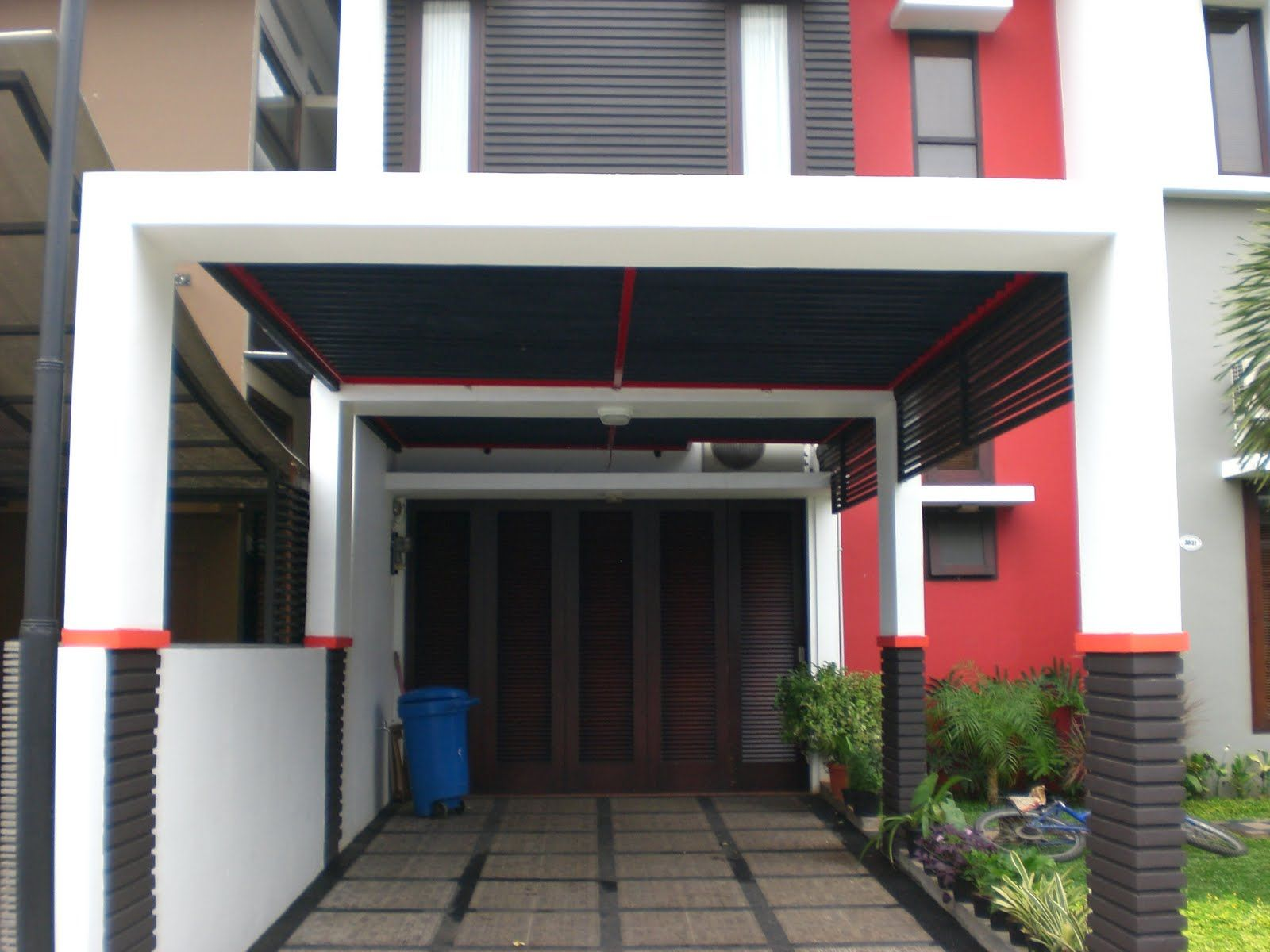 38 Images of a Minimalist Home Canopy Model Desain rumah