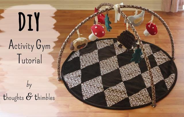 94625262 DIY Handmade Baby Toys : DIY Frugal Baby Activity Gym   Baby diy ...
