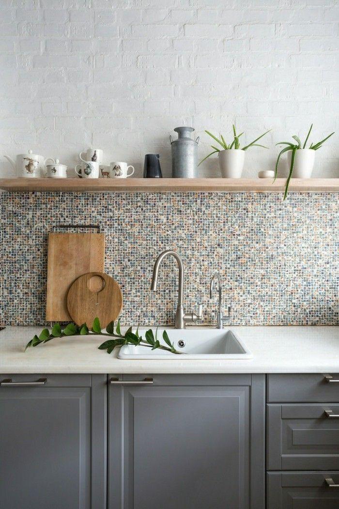 Küchenrückwand - wählen Sie eine praktische und moderne aus ...