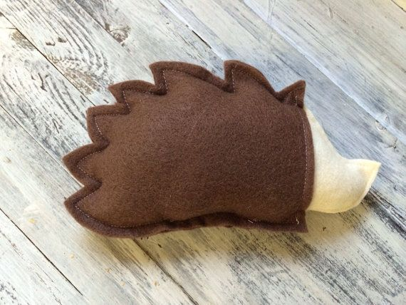 Hedgehog Keepsake Tooth Fairy Pillow