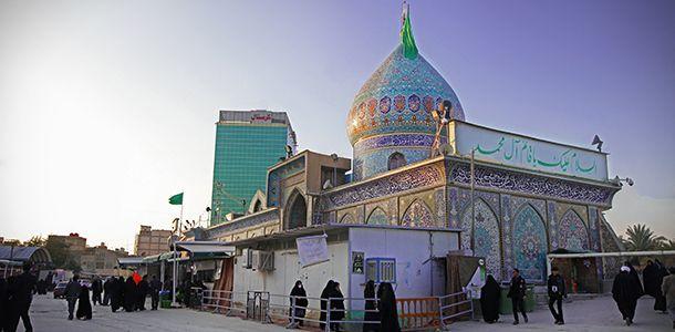 ازدهار وتطور البناء في مقام الامام المهدي (عجل الله تعالى فرجه) - منتديات السبطين
