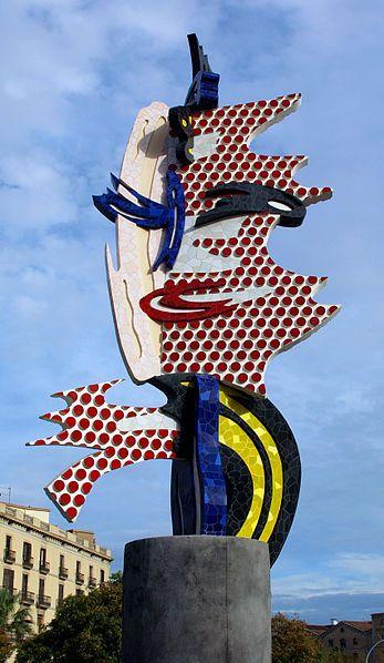 La Cara de Barcelona. Roy Lichtenstein