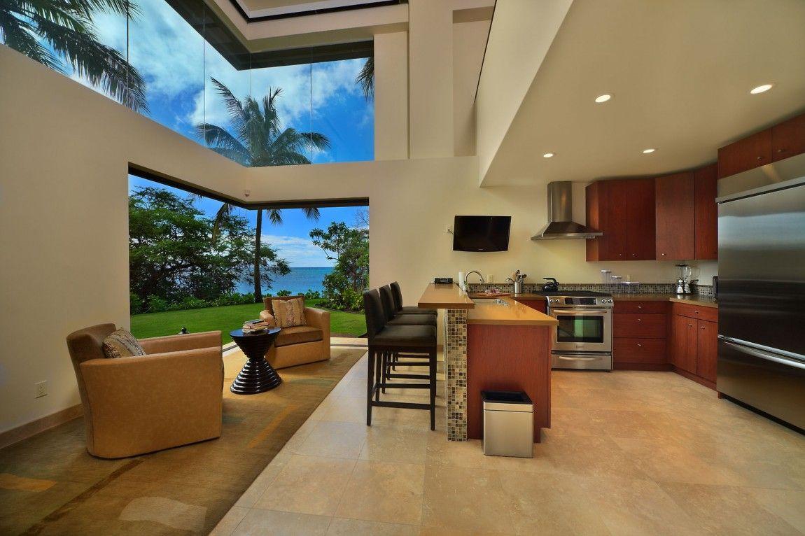 Luxury Residence In Hawaii  Homaci  Kitchen  Pinterest Impressive Kitchen Design Hawaii Decorating Design