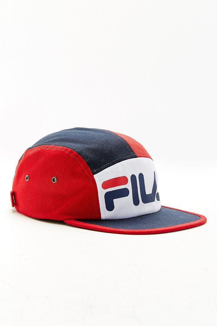 4334a52bee1 FILA + UO 5-Panel Hat
