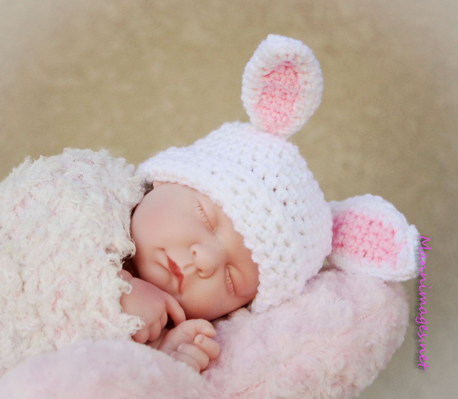 Crochet bunny rabbit beanie by thelovelyyarns on etsy kids