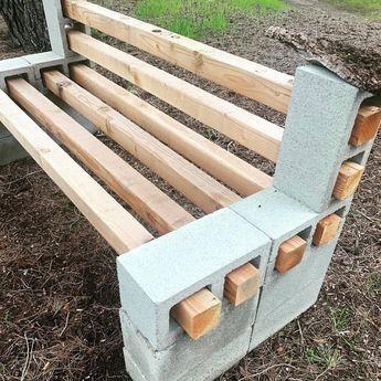 47 Good Diy Cinder Block Furniture And Decor Ideas Betonblock Garten Diy Gartendekoration Gartenmobel Design