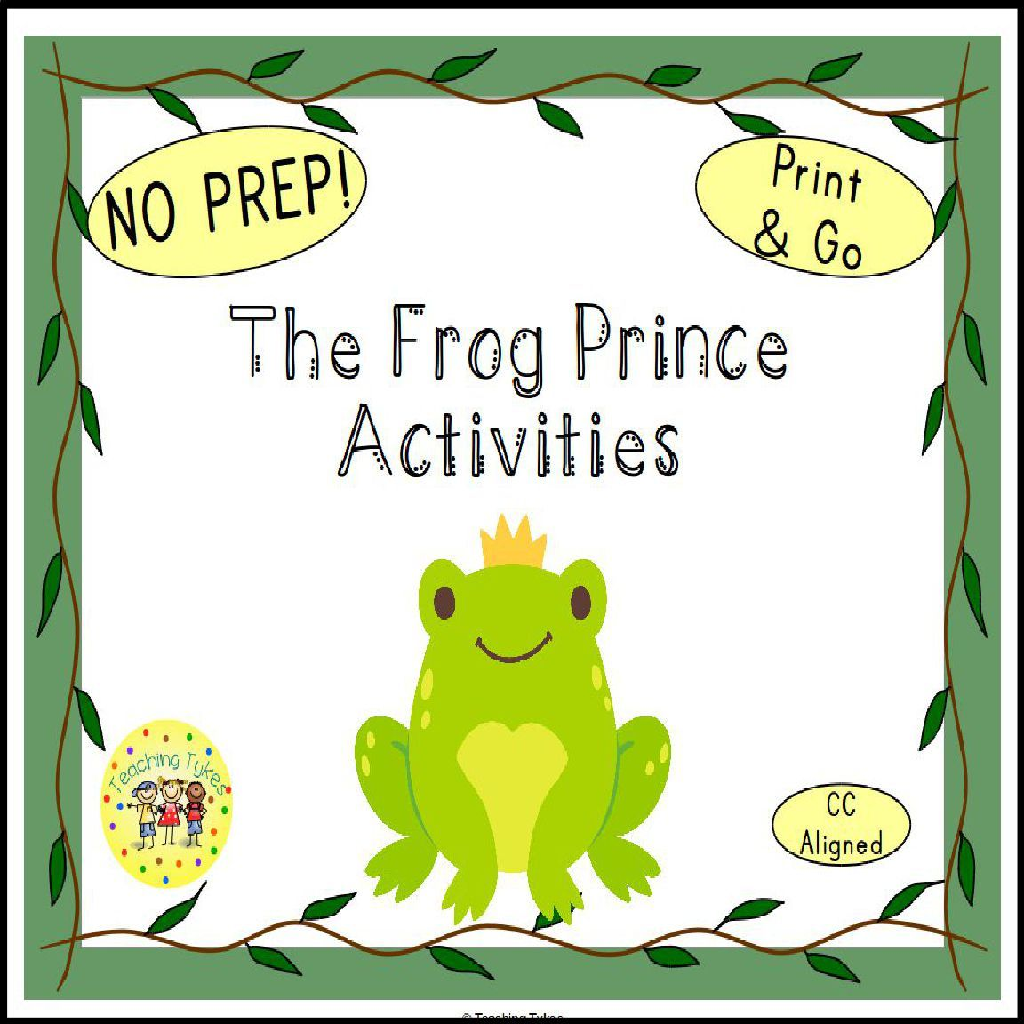 The Frog Prince Activities