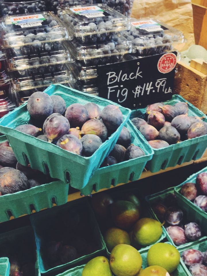 Gorgeous Black Figs from Grand Central Gourmet Deli. <3 #biteonNYC and #bitehealthy #farmersmarket