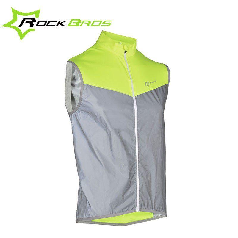 34741c652 ROCKBROS Sleeveless Cycling Rain Jackets Men Rainproof Bike Jackets Wind Coat  Windproof Downhill MTB Bicycle Jackets Gilet Vest