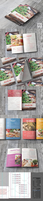 Gurih  Recipe Book Magazine Templates  Magazine Templates