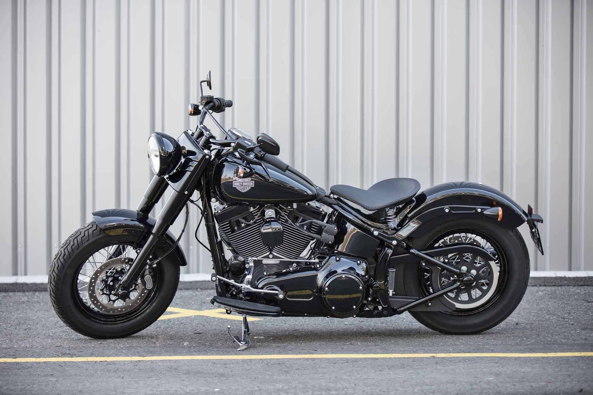 Harley Davidson Softail Slim S by house of leather