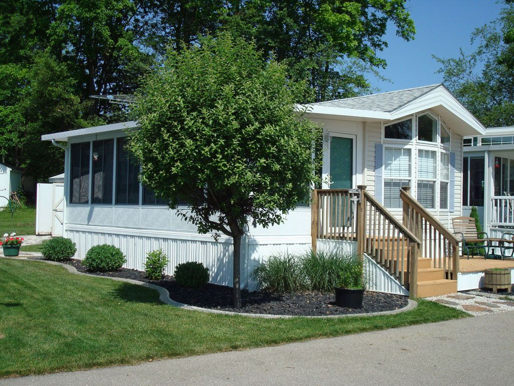 Homes Mobili ~ Best mobile homes images woodworking lake