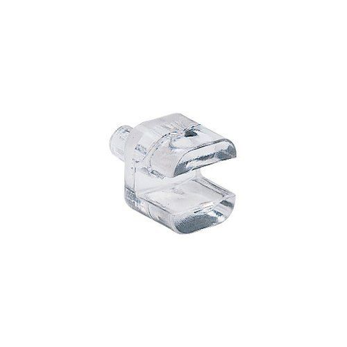 1 4 Glass Shelf Supports 16 Pack By Rockler 4 59 The 1 4 Slot In These Clear Plastic Shelf Supports P Glass Shelf Supports Glass Shelves Shelf Supports