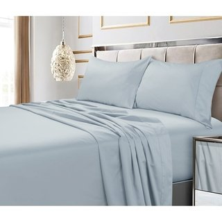 Egyptian Cotton 600 Thread Count Extra Deep Pocket Sheet Set Cal