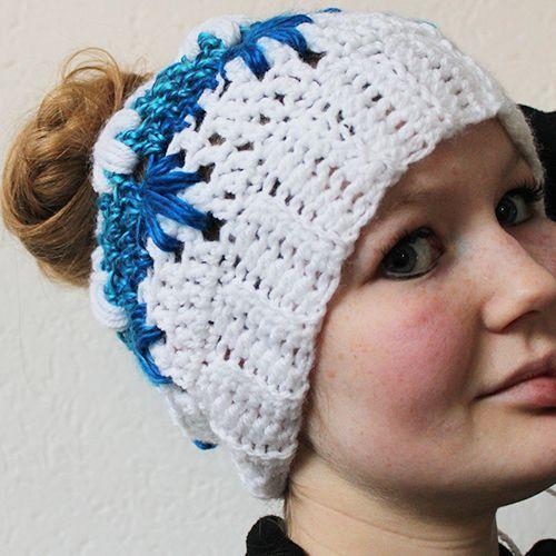 Maybe you also like my frozen winter bun hat pattern