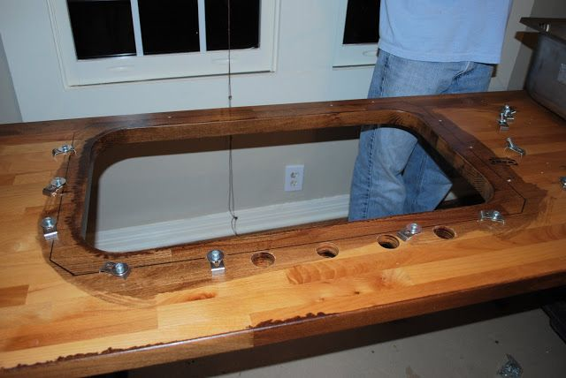 Awesome Tutorial To Turn Ikea Butcher Block Countertops And Install Undermount Sink