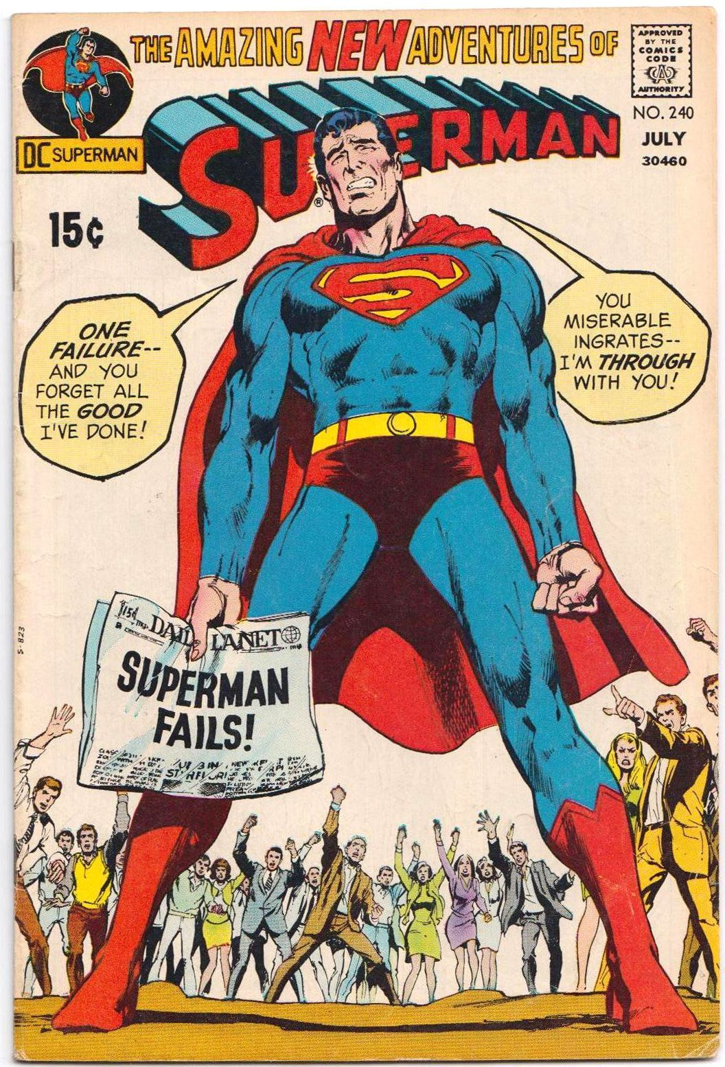 The Grooviest Covers Of All Time Neal Adams Covers Superman S