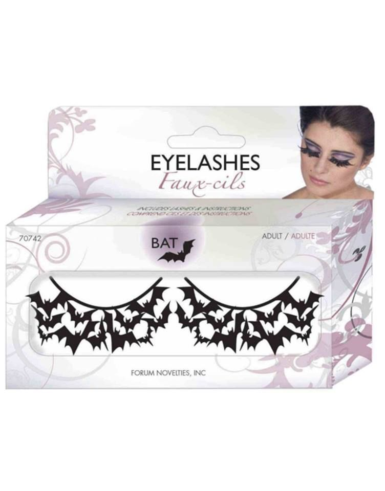 False Bat Eyelashes Make Up And Stuff Tenebrosos Accesorios