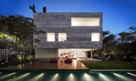 Leer Arquitectura: Casa Cubo en São Paulo, Brazil / Studio MK27 – Marcio Kogan + Suzana Glogowski