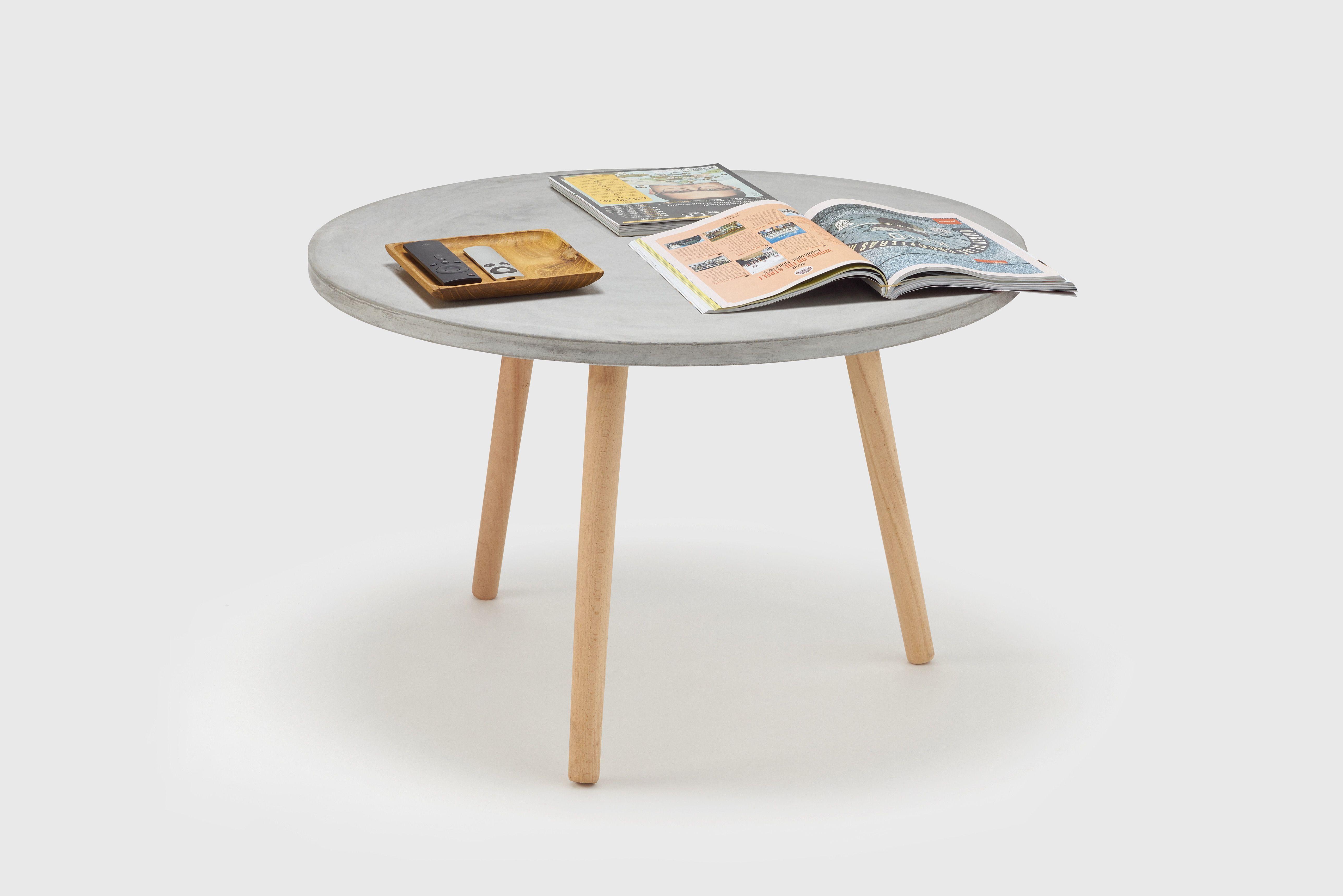 Java soffbord i lättbetong passar inomhus och utomhus