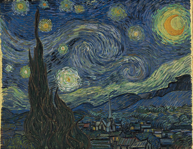 Vincent Van Gogh Art Work Starry Night Starry Night Van Gogh Gogh The Starry Night Van Gogh Paintings