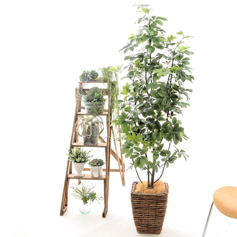 光触媒観葉植物とフェイクグリーンの 造花ドットコム 観葉植物 造花 手作り収納