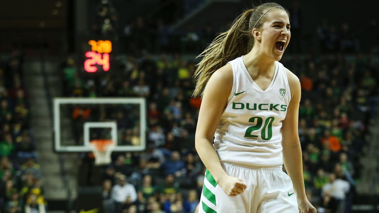 Oregon S Sabrina Ionescu Is Espnw S Preseason Player Of The Year Basketball Players College Basketball Players The Sporting Life