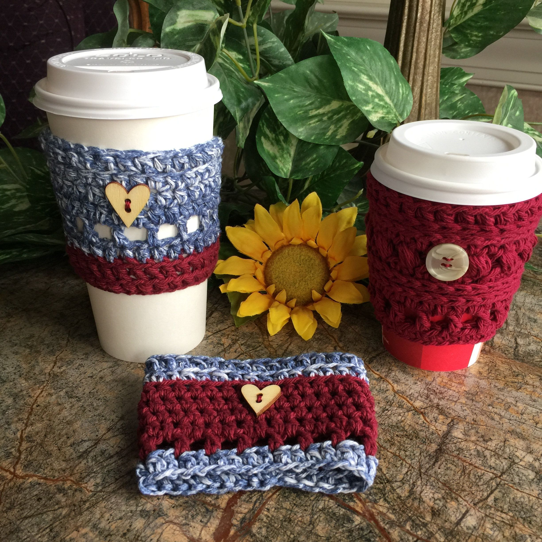 Cup Cozy Crochet Cup Sleeve Coffee Sleeve Togo Sleeve Coffee Holder Drink Sleeve Togo Cup Holder Crochet Cup Hol In 2020 Cup Cozy Coffee Sleeve Crochet Cup Cozy