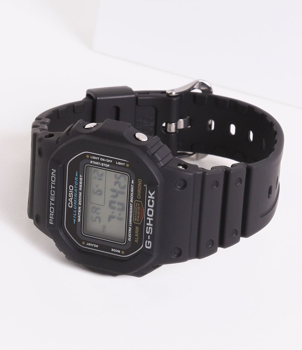 73195a6bcd8 Relógio Masculino G-Shock Casio DW 5600E 1VDF Digital Calendário 20 ...