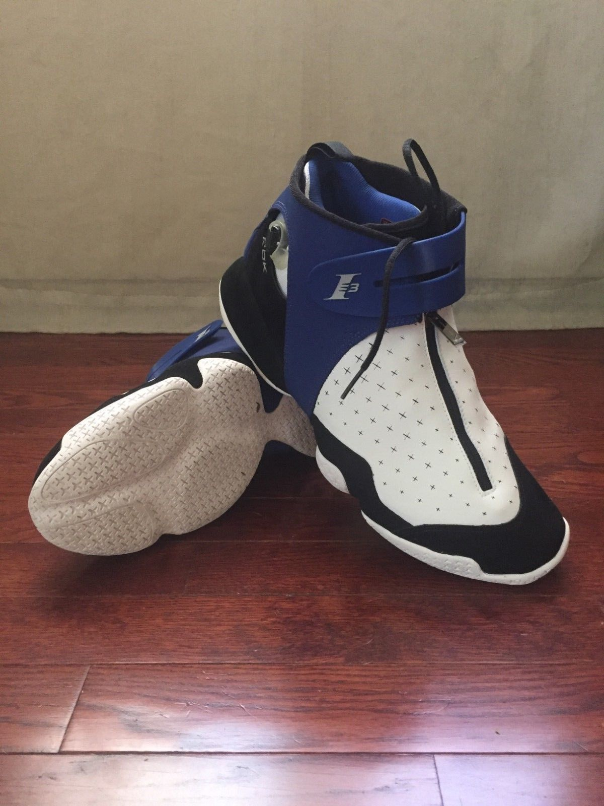 d0e120e8adaf4c Reebok Iverson Answer X 10 Pump Original Release 2006 Size 12 White Royal