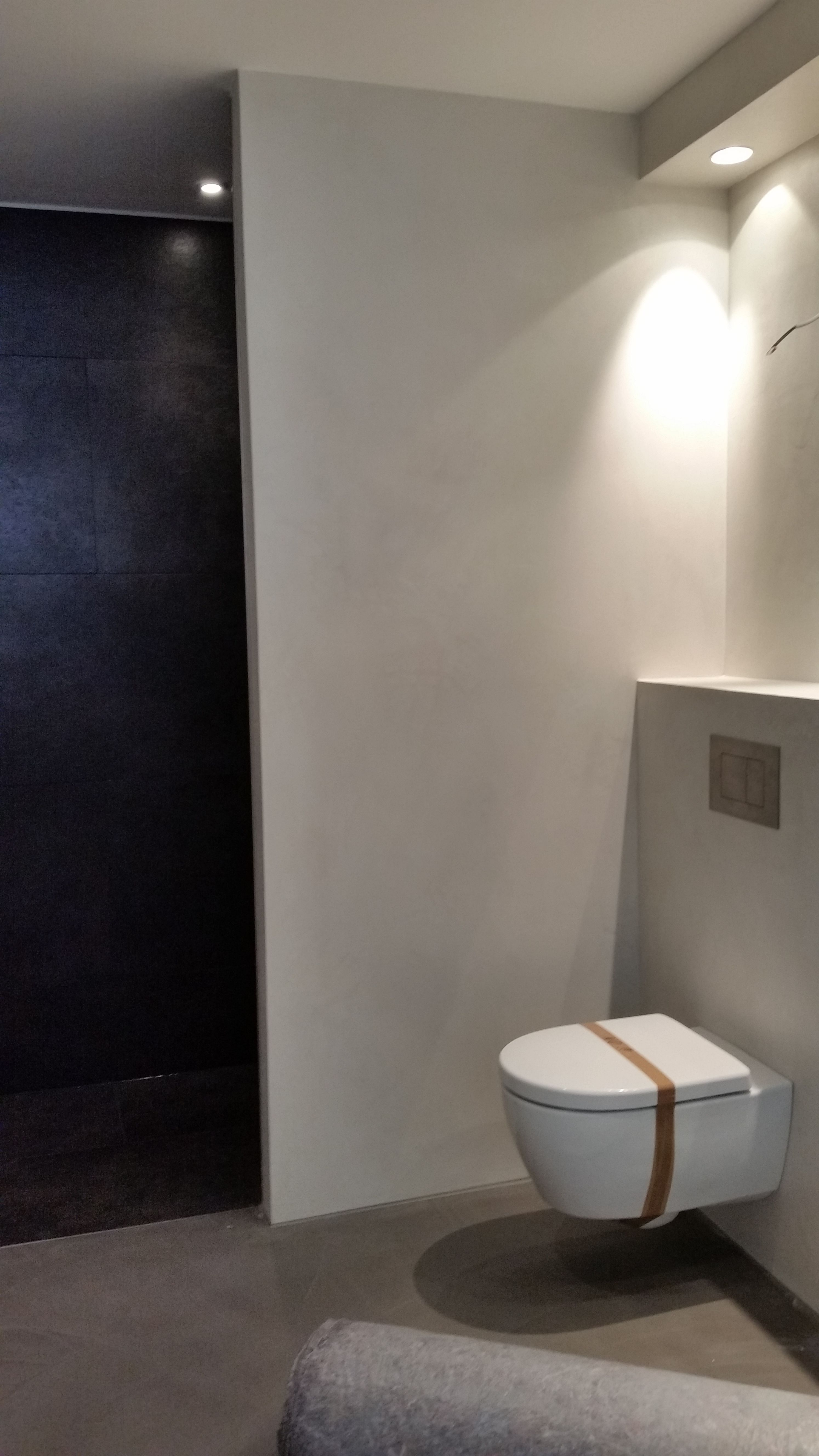 beton cire dusche erfahrungen wohn design. Black Bedroom Furniture Sets. Home Design Ideas