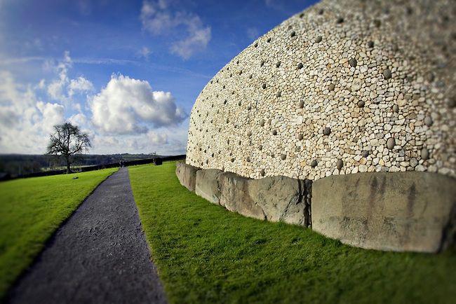 Photo Of The Exterior Of The Newgrange Stone Monument And Tomb In Ireland Europe Fine Art Photos Photo Europe Photos Ireland