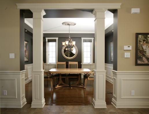 Columns Interior Interior Columns Wood Columns Small Basement Remodel