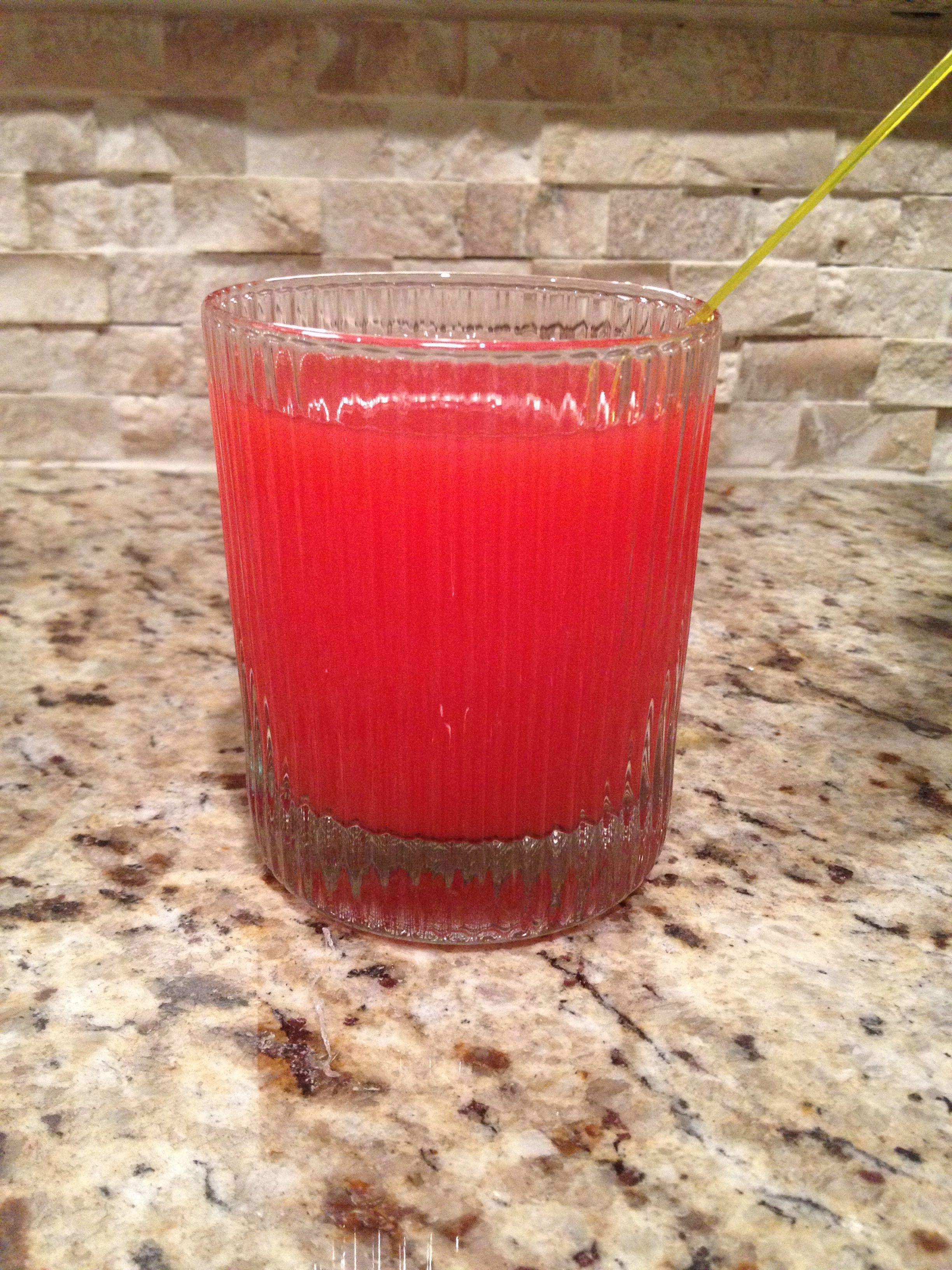 Nebraska March 1 Cocktail Kool Aid Kaddy 2 Oz Vodka I Used Mandarin Orange Juice Kool Aid I Used Cherry Pour Vodka In Cocktails Kool Aid Drinks