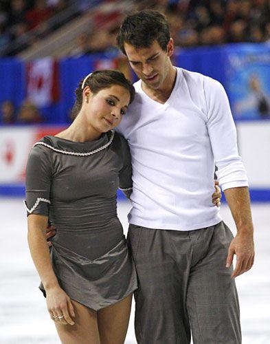 jessica dube and bryce davison/ figure skaters