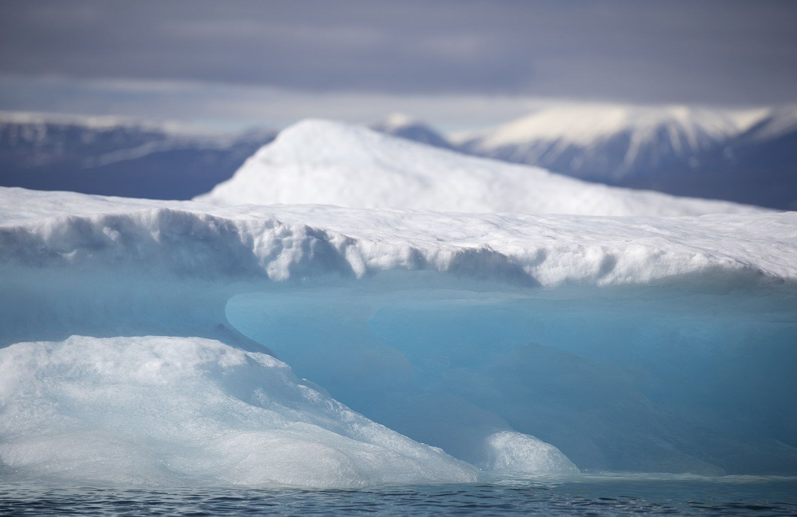 Baffin Island, Nunavut, Canada. Baffin island, Pond
