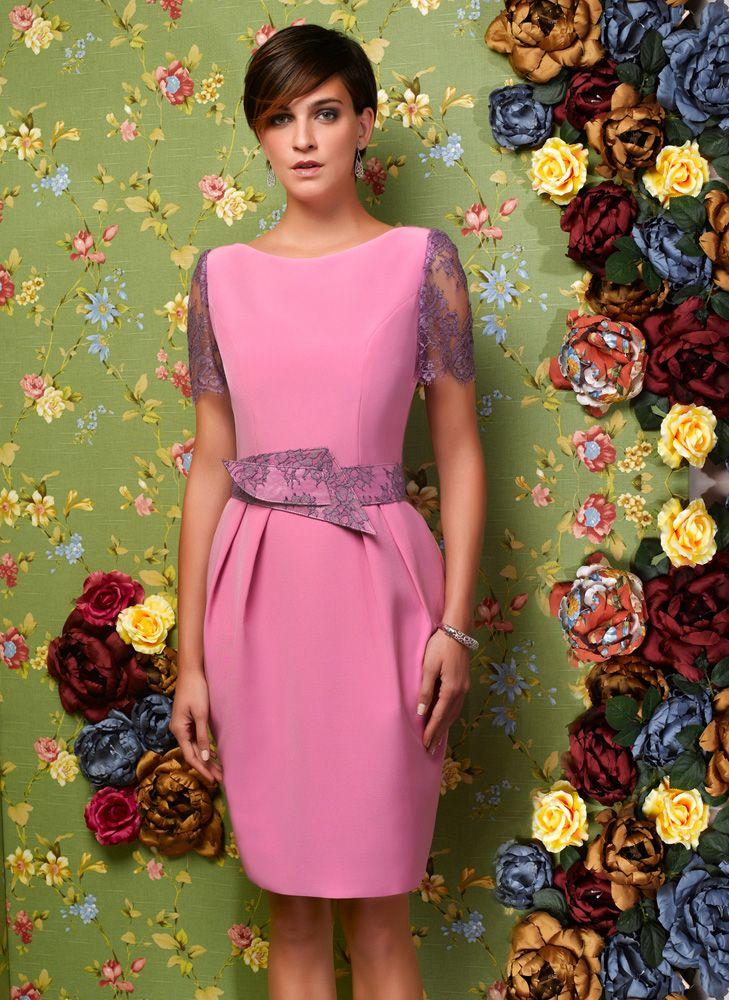 Vestido rosa. | Nacho Bueno | Pinterest | Vestido rosado y Vestiditos