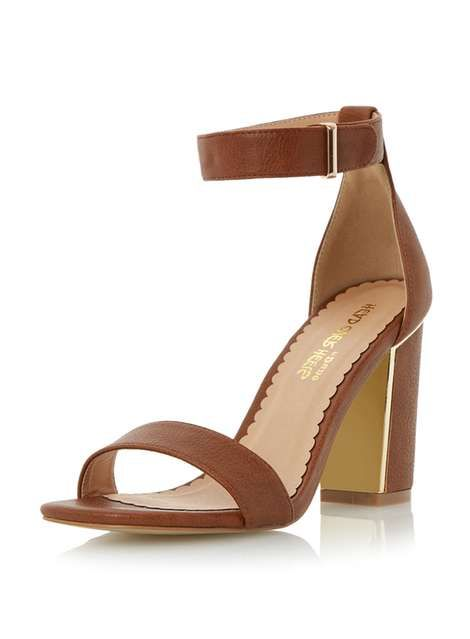 abf52c2953d Head Over Heels Mushu Square Toe Sandal - Dorothy Perkins