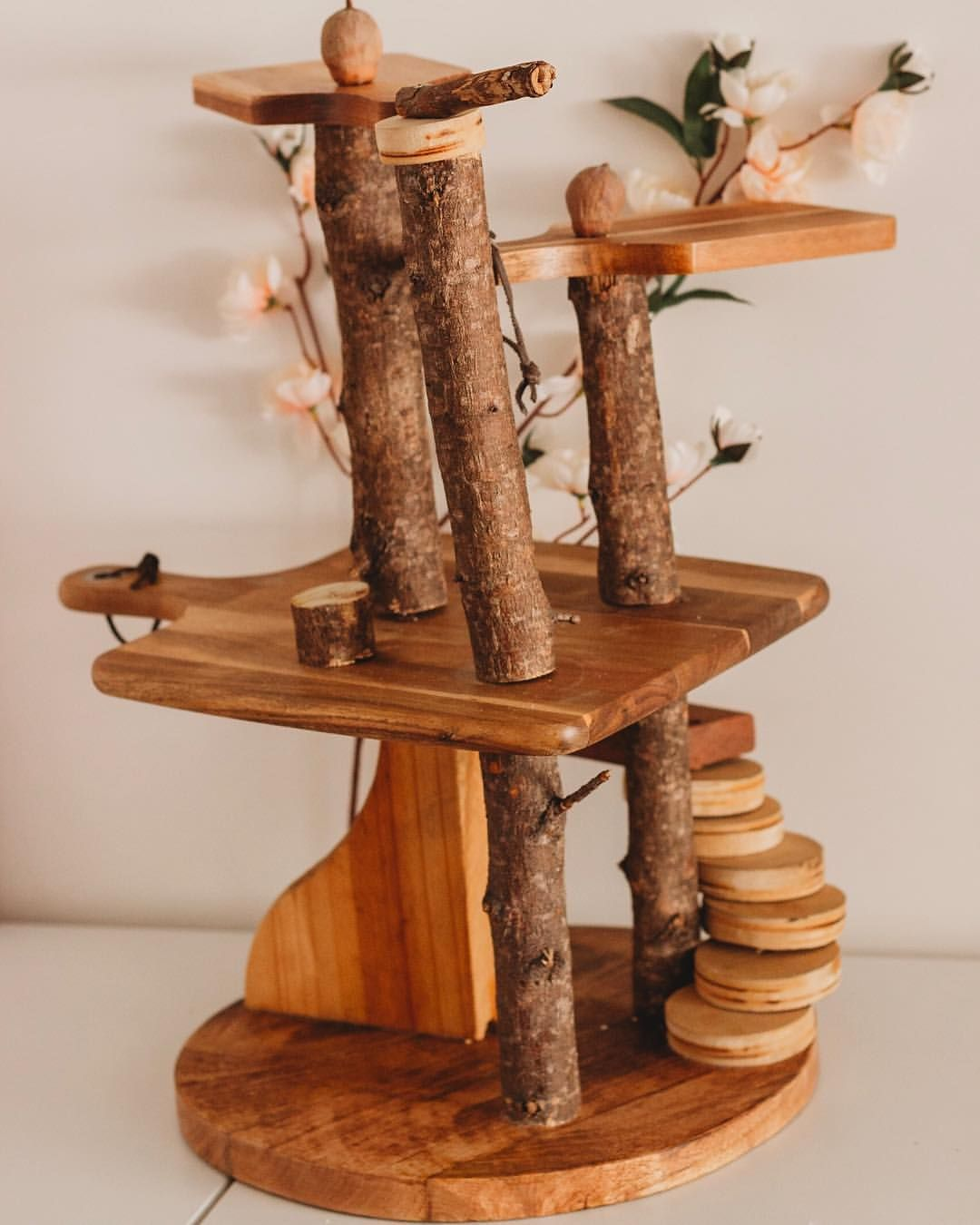 Made This Miniature Treehouse For My Daughter All Out Of Kmart