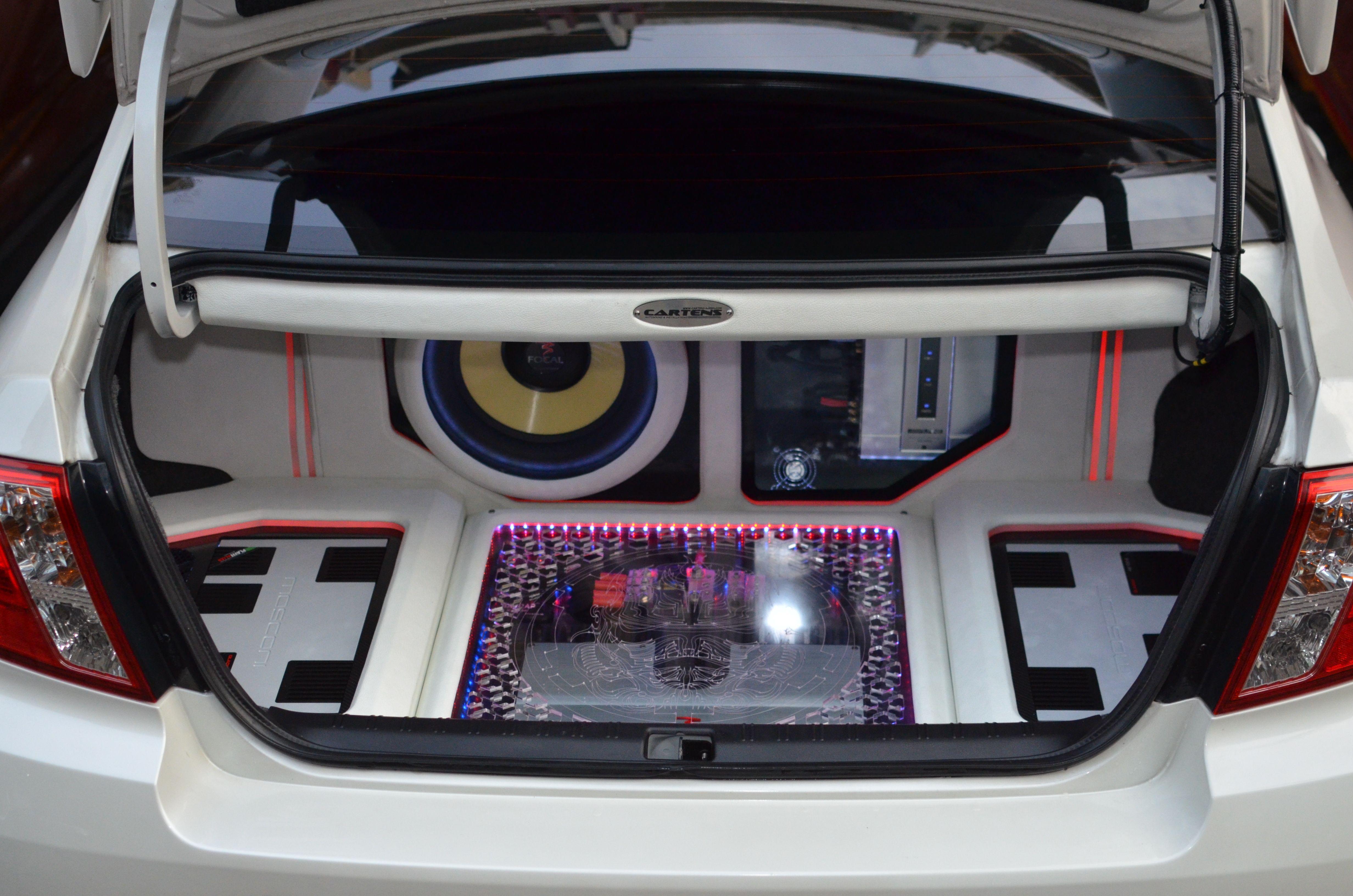 Subaru Wrx Trunk Design For Incar Entertaintment By Www Cartens